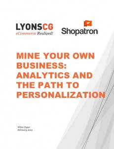 analytics and the path to personalization