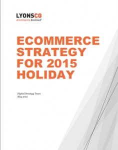 eCommerce Strategy for 2015 Holiday