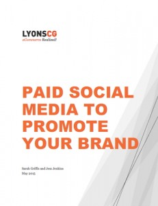 paid social media to promote your brand
