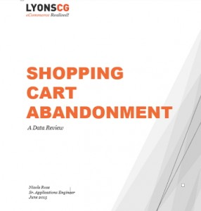 shopping cart abandonment white paper