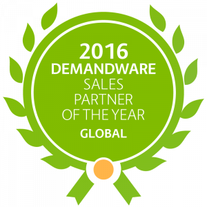 Demandware Global Sales Partner of the year