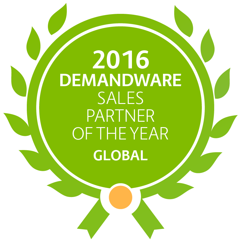 Demandware Global Sales Partner of the year