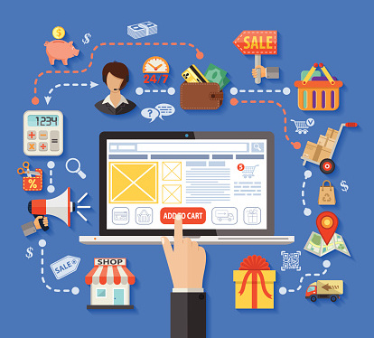 ecommerce shopping add to cart