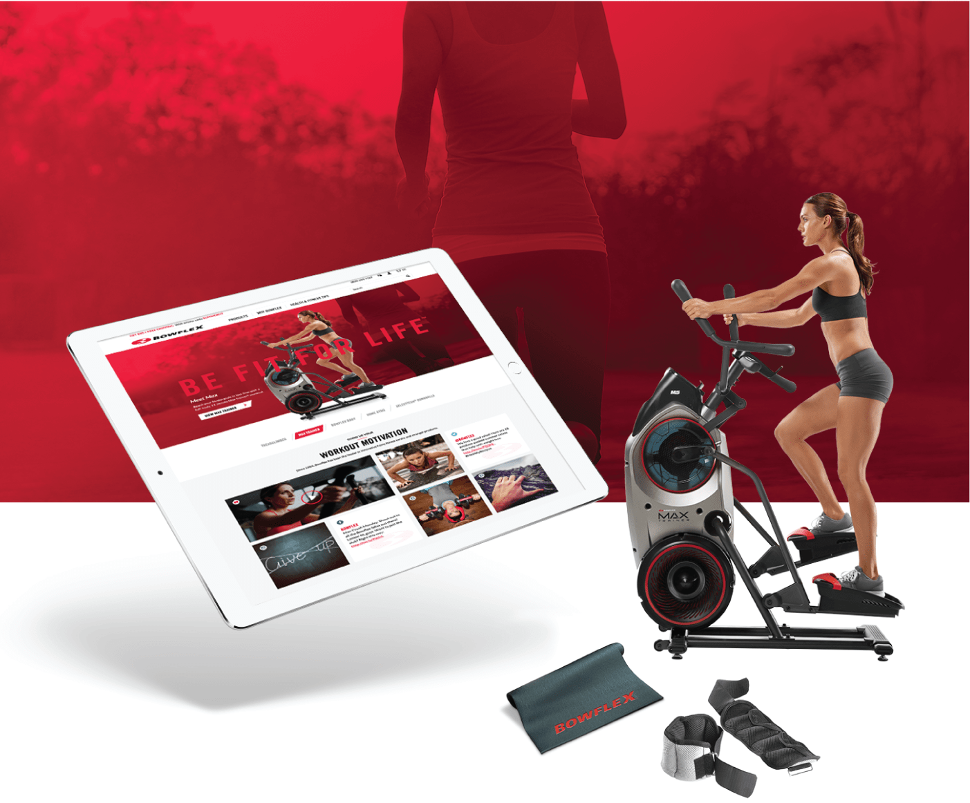 STRENGTHENING THE BOWFLEX DIGITAL EXPERIENCE