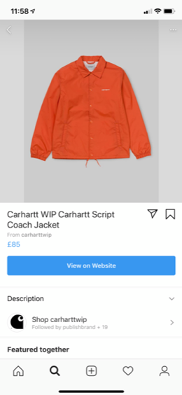 in-app checkout
